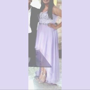 Lilac gorgeous gown